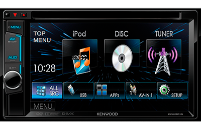 multimedia kenwood ddx-3015