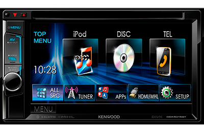multimedia kenwood ddx-5015bt
