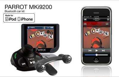 parrot mki9200, manos libres, accesorios automóvil, multimedia, navegación