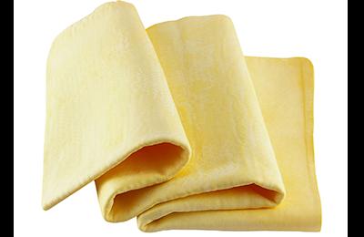 Bayeta de cuero para secado después del lavado