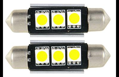 Lámpara LED C5W - C10W de 3 LED