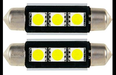 Lámpara LED C5W - C10W de 4 LED