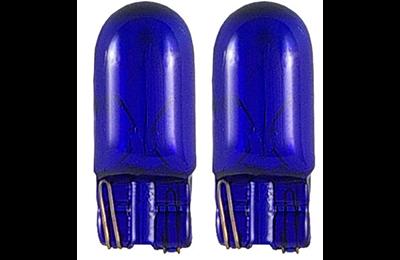 lampara t10 w5w azul