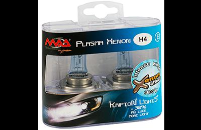Estuche de lámparas efecto xenon, estuche de lámparas h4 efecto xenon de 3700K, lámparas efecto xenon