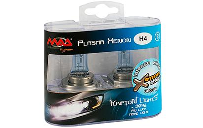 Estuche de lámparas H1 efecto xenon, estuche de lámparas h4 efecto xenon, estuche de lámparas h7 efecto xenon