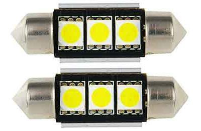 Lámpara LED C5W - C10W10x36 - 3 LED SMD 5050