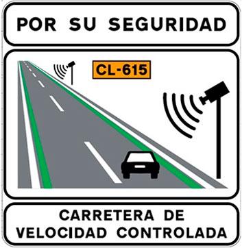 Líneas verdes en la carretera, ¿Qué significan?