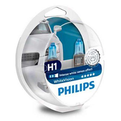 Estuche de lámparas Philips White Vision