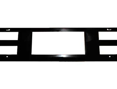 Accesorios exterior de coche, portamatrícula para coche de color negro