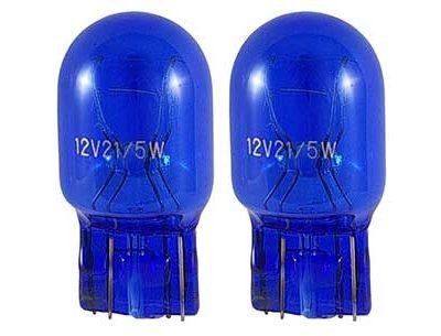 Lámpara T20 W21/5W azúl efecto xenon